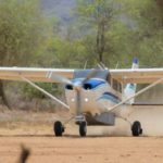 Leaving Kimatong Patrick Crisp, Pilot Photo by Jason Ransom 2016-03-29